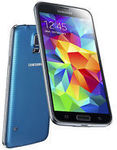 Samsung Galaxy S5 4G LTE Blue $434.10, after Cashback $425.42 Delivered Kogan eBay