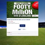 Win $1,000,000 from Kogan - Predict the 2015 AFL Ladder