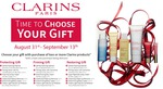 Choose a Gift if You Buy 2 or More Clarins Products (One Being Skincare) @ Kiana Beauty