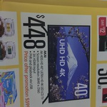 """Akai HD 40"""" Ultra HD 4K LED LCD TV $448 @ Big W"""