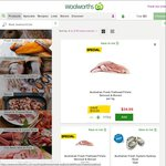 40% off Australian Flathead Fillets $29.99/kg*, 50% off San Remo Gluten Free Beef Ravioli 350g $4.49 @ Woolworths - ENDS TONIGHT