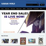 10% off on Orders over $100 on All Gundams Available at Gundam.World