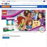 "Free LEGO Friends Make & Take @ Toys ""R"" Us (2/4)"