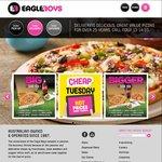 $4.95* Cheap Eats Pizzas @ Eagle Boys