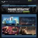 [PC] [Steam] Paradox Interactive Sale - Cities: Skylines 75% off | $7.49USD ($9.92AUD)