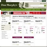 50% off Royal Doulton Sommelier Range Wine Glasses 4pk $60 Delivered @ Dan Murphy's (Plus $10 Back for AmEx)