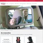 FREE EZ-Cling Window Shade Valued at $9.95 (First 50 Orders Who Buy 2 or More Items) and Free Shipping on All Britax Accessories