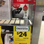 Canon Ink Cartridge - 650XL PGBK - Twin Pack - $24 (Clearance) @ Woolworths [Cooloongatta QLD]