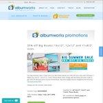 Albumworks 35% Summer Sale off Big Photo Books