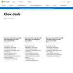 Xbox One S 1TB + 3 Games + 3 Months Stan | $349 @ Microsoft Store