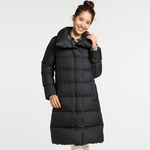 Uniqlo Womens Light Weight Down Volume Collar Coat $59.90 Shipped (Was $169.90) Black, Beige or Navy