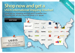 HopShopGo - USD $15 Voucher on Shipping Costs