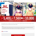 Japan Explorer Pass Flights from $65 on JAL