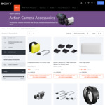 Sony 20% off Action Camera Accessories @ Sony.com.au