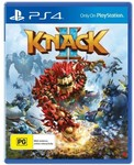 [PS4] Knack 2 $19 (Free C&C or + Delivery) @ Harvey Norman