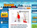 Zoupon Melbourne - $49 to Get Your Home Looking Sparkling! up to 5hr Residential Home Clean