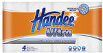 Handee Ultra White Paper Towels 4 Pack $3 (Save $2.72) at Coles