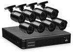 8 Camera Home Security System with DVR $299 @ALDI