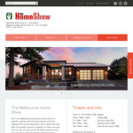 Melbourne HIA Home Show, 2 Free Tickets for Home Show Club Members