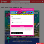 Win a Holiday in Thailand for 2 Worth $3,894 from Scoopon