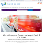 Win a Trip Around Europe Worth $8,000 from STA Travel [Except NT/SA]