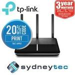 TP-Link Archer VR600v AC1600 VoIP VDSL/ADSL Modem Router $175.20 Delivered @ Sydneytec and PC Byte eBay