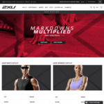 2XU - Additional 30% off Already Reduced/Outlet Items