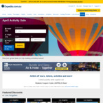 Expedia $15 off Activities Coupon - $50 Min Spend