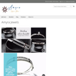 25% off Storewide Special for Mothers Day @ Amyra Jewels (Sterling Hearts: Was $69.99, Now $52.49) [$10 Flate Rate Shipping]