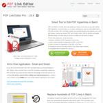 PDF Link Editor - Now 40% off AU $16.00 (Normally AU $26.67)