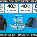 [VIC] Ray's Outdoors - Hoppers Crossing Closing down Sale, 40% to 60% off