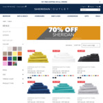 Free Shipping for VIP Orders (No Minimum Purchase) + 70% off Favourites @ Sheridan Outlet