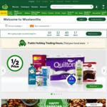 5x Reward Points @ Woolworths When Ordering Online for Pickup Instore