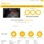 Free 1 Year Domain (.ooo) @ Buy.ooo