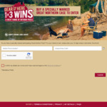 Win 1 of 120,421 Instant Win Prizes (Including a Camper Trailer) [Purchase a Specially-Marked 24-Pack of Great Northern Beer]