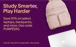 10% off Select Laptops, Backpacks & More at Selected Sellers (Min $25 Spend, Max $75 Discount) @ eBay US