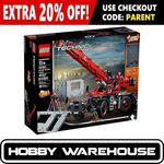 LEGO Technic 42082 Rough Terrain Crane $288.81 Delivered @ Hobby Warehouse eBay store