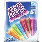 ½ Price Zooper Dooper 24 Pack $2.50 @ Woolworths