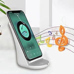 Nine Five NF10 Universal Fast Charge Wireless Charger Stand with Bluetooth Speaker US $17.96 (~AU $26.76) Delivered @ LITB