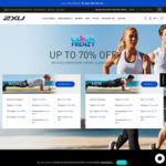 Up to 70% OFF at 2XU for Click Frenzy