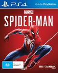 [PS4] Spider-Man $44 + Delivery (Free Delivery with Prime/ $49 Spend) @ Amazon AU