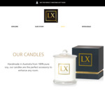Up to 50% off Candles @ Luxescent - 100% Pure Soy Candles from $22 (Free Gift Wrap + Gift Bag + Shipping on Orders above $49.99)