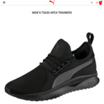 Puma Men's TSUGI Apex Trainers (Size US 7, 7.5 & 8) $60 (Half Price) + Shipping @ Puma