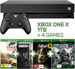 Xbox One X with 4 Games $544.05 (eBay Plus New Members $514.10) Delivered @ EB Games eBay