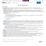 3% off Sitewide (Min Spend $50, Max Discount $100) @ eBay