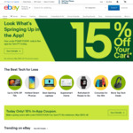 $5.00 off Your Purchase of $5.01 or More @ eBay US