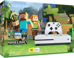 Xbox One S 500GB - Minecraft Bundle $199 (Sold Out), Wiltshire Rose Gold Knife Block 6 Piece Set $50 (Was $100) @ Big W Instore