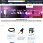 Up to 30% off Philips Hue: White and Colour Ambiance Starter Kit $139 Shipped (Expired) + More @ Amazon AU (Price Beat Bunnings)