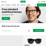 $10 off $99 Plus Free Standard Delivery @ Specsavers