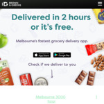 [VIC] $50 Off Your First Grocery Delivery ($9.90 Delivery Fee) @ Brown and Greens (Melbourne)